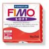 Gyurma, 56 g, égethető, FIMO Soft, indián piros