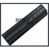 G62 6600 mAh 9 cella fekete notebook/laptop akku/akkumulátor utángyártott