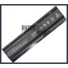 G72 4400 mAh 6 cella fekete notebook/laptop akku/akkumulátor utángyártott