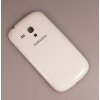 Samsung i8190 Galaxy S III Mini gyári akkufedél - fehér