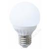 LED LED izzó, E27, GR60, 470lm, 6W, 3000K, meleg fény, ACME (ALED33)