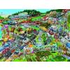 Heye puzzle 1500 db - Traffic Jam, Schöne
