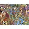 Heye puzzle 1000 db - Bunnytown, Ruyer