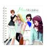 Avenue Mandarine Miss Modeline - Tavaszi divat matricázó, színező album