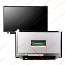 AU Optronics B116XTN01.0 kompatibilis matt notebook LCD kijelző laptop kellék
