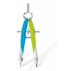 STAEDTLER Körző készlet, precíziós, 2 darabos, STAEDTLER Mars Comfort Neon, neon kék/zöld (TS55600N1)