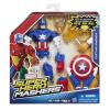 Bosszúállók: Mashers figura kiegészítőkkel - Amerika kapitány