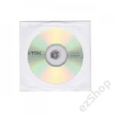 TDK ÍRHATÓ CD TDK CD-R80 (52X) PAPÍRTOKBAN (HOL) írható és újraírható média