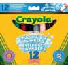 Crayola 12 db vastag extra kimosható filctoll 58-8329