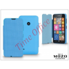Mozo Nokia Lumia 530 flipes tok - Mozo Book Case - blue