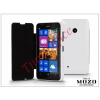 Mozo Nokia Lumia 530 flipes tok - Mozo Book Case - white