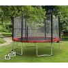 G21 trambulin biztonsági hálóval, 430cm, piros