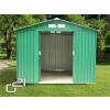 G21 GAH 429 - 251 x 171 cm-es kerti fém ház, zöld