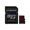 Kingston microSDXC 64GB (Class 10) UHS-I + Adapter