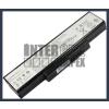 K72JE Series 4400 mAh 6 cella fekete notebook/laptop akku/akkumulátor utángyártott