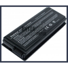 X50C 4400 mAh 6 cella fekete notebook/laptop akku/akkumulátor utángyártott