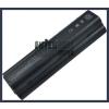 Pavilion dv2300 Series 6600 mAh 9 cella fekete notebook/laptop akku/akkumulátor utángyártott