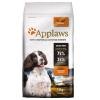 Applaws Adult Small & Medium Breed csirke - 2 x 7,5 kg