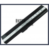A52JR-X1 4400 mAh 6 cella fekete notebook/laptop akku/akkumulátor utángyártott
