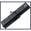 Toshiba Satellite L655D-S5076 4400 mAh 6 cella fekete notebook/laptop akku/akkumulátor utángyártott