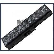 Toshiba Satellite L655D-S5067 4400 mAh 6 cella fekete notebook/laptop akku/akkumulátor utángyártott toshiba notebook akkumulátor