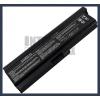 Toshiba Satellite L655-128 6600 mAh 9 cella fekete notebook/laptop akku/akkumulátor utángyártott