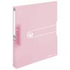 Herlitz Hungária Kft. Herlitz Gyűrűskönyv A4 PP Pastell rózsaszín