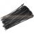 Extol Extol kábelkötegelő 4,8×250mm 50db, fekete nylon; - 95954