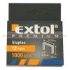 Extol premium, Extol prémium tűzőgépkapocs (11,3×0,52×0,7); 12mm, 1000db - 8852504