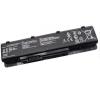 N75SV Series 4400 mAh 6 cella fekete notebook/laptop akku/akkumulátor utángyártott