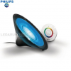 Philips Living Colors Aura asztali LED lámpa, fekete, 1x8W, 70998/30/PH