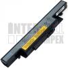 IdeaPad Y490N Series 4400 mAh 6 cella fekete notebook/laptop akku/akkumulátor utángyártott