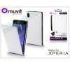 Slim Slim Flexi Flip bőrtok - Samsung SM-G850 Galaxy Alpha - fekete tok és táska