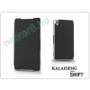 Slim Slim Flexi Flip bőrtok - HTC Desire 300 - fekete