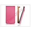 Haffner Slim Flip bőrtok - Samsung SM-G920 Galaxy S6 - pink