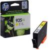 HP C2P26AE No.935XL sárga eredeti titnapatron