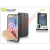Muvit Samsung SM-G920 Galaxy S6 flipes tok - Muvit Window Folio - black