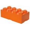 LEGO 2x4 tárolódoboz narancs (40041760)
