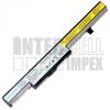 IdeaPad N40-70 Series 2200 mAh 4 cella fekete notebook/laptop akku/akkumulátor utángyártott