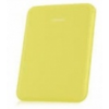Samsung EF-SP520BY oldalra nyíló szövetbevonatos támasztós tok sárga (P5200, P5210 Galaxy Tab 3 10.1)*