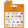 DJECO Mini matricák ABC color Coloured letter