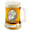 Óncímkés sörös korsó 35, 40 éves (1.)