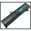 Toshiba Satellite M105 series 4400 mAh 6 cella fekete notebook/laptop akku/akkumulátor utángyártott
