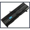 Toshiba Satellite A100 Series 6600 mAh 9 cella fekete notebook/laptop akku/akkumulátor utángyártott