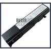Toshiba DynaBook TX Series 4400 mAh 6 cella fekete notebook/laptop akku/akkumulátor utángyártott