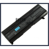 Toshiba Satellite M50 Series 6600 mAh 9 cella fekete notebook/laptop akku/akkumulátor utángyártott