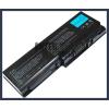 Toshiba Satellite P200 Series 6600 mAh 9 cella fekete notebook/laptop akku/akkumulátor utángyártott