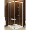 Ravak Blix sarokbelépős zuhanykabin BLRV2K-80 krómhatású + Grafit**