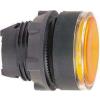 Schneider Electric Nyomógombfej sárga - Műanyag működtető- és jelzőkészülék-harmony 5-os sorozat-22mm - ZB5AA58 - Schneider Electric