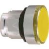 Schneider Electric Világító nyomógombfej sárga - Fém működtető- és jelzőkészülékek-harmony 4-es sorozat-22mm - Harmony xb4 - ZB4BH053 - Schneider Electric